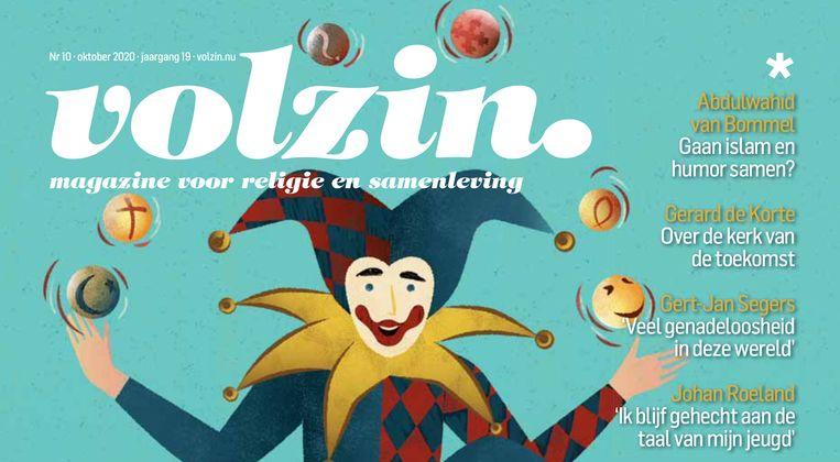 Cover van Volzin oktober 2020, met interview bisschop De Korte Beeld