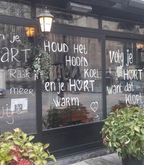 Ramen van café vol met hartenkreten: 'Houd het hoofd koel en je hart warm'