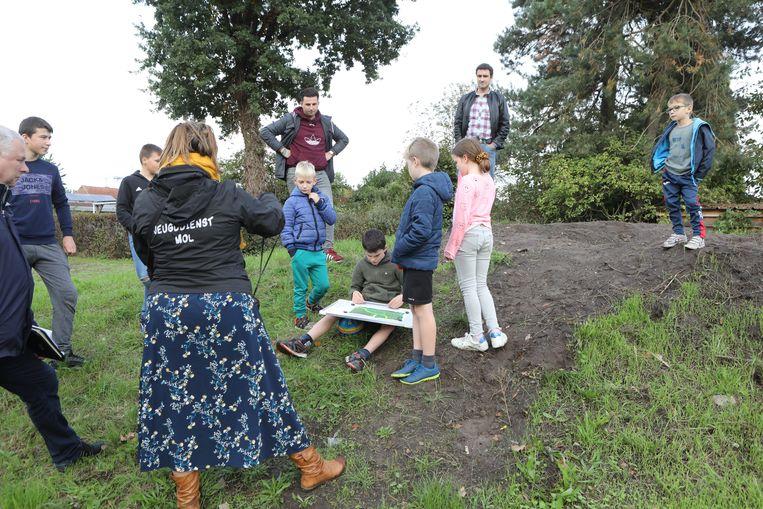 Kinderen geven hun visie op de toekomst van plein Rijtenhof