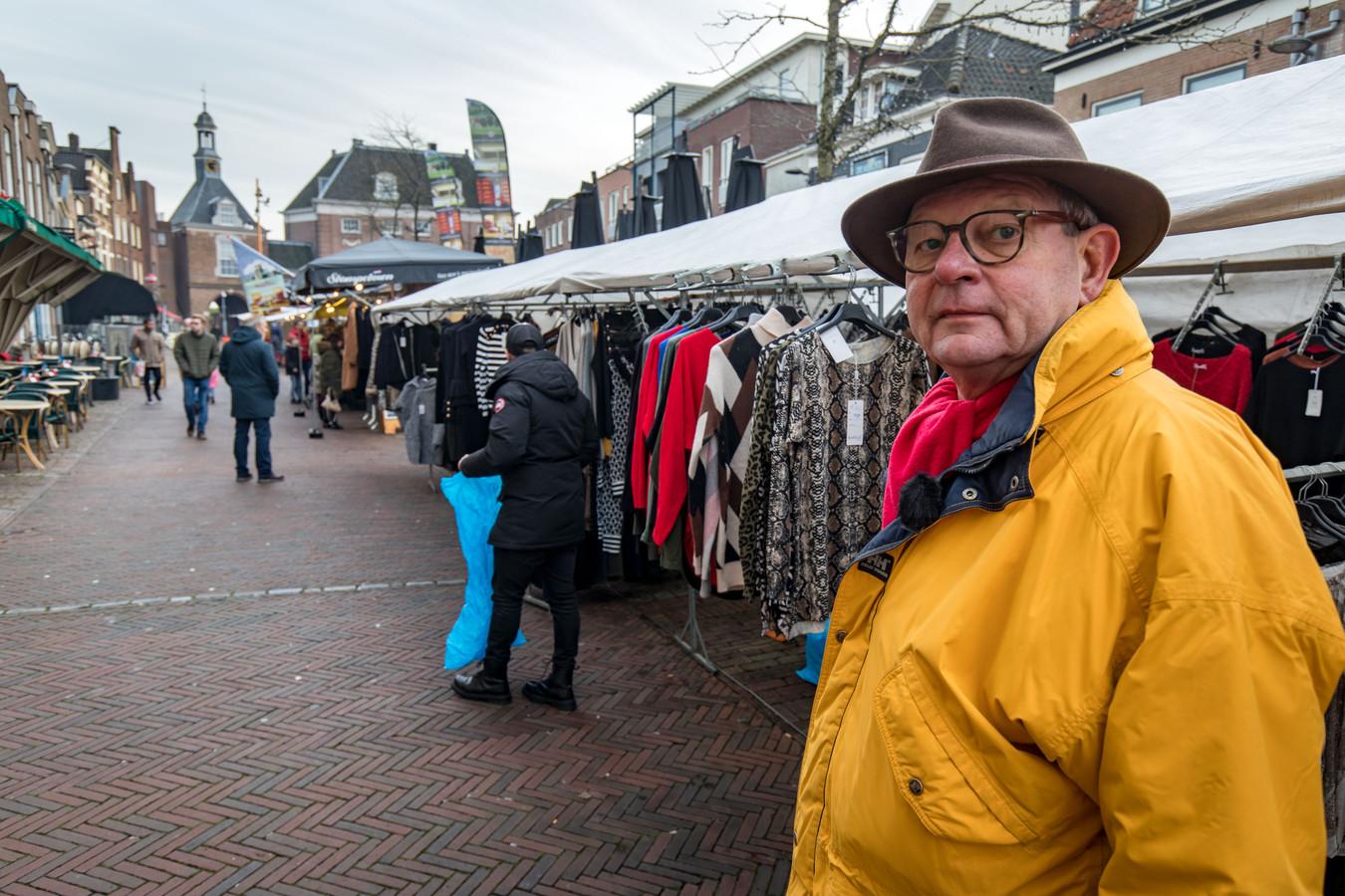 Hennie Rijksen is net weg als marktmeester in Tiel
