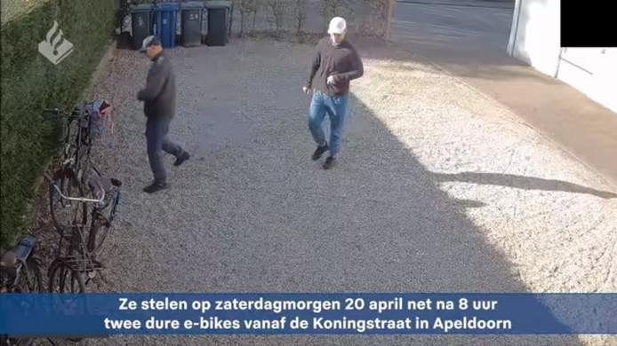 De twee dieven die e-bikes hebben gestolen in Apeldoorn