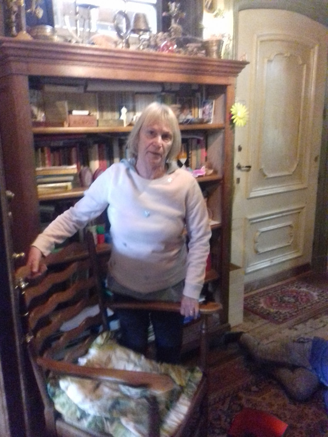Moeder van Tanja Mers.