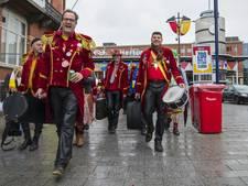 Stationsplein Den Bosch 'schoner' tijdens carnaval door nieuwe aanpak