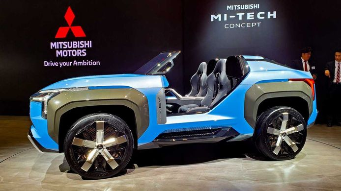 Mitsubishi's concept car MI-TECH