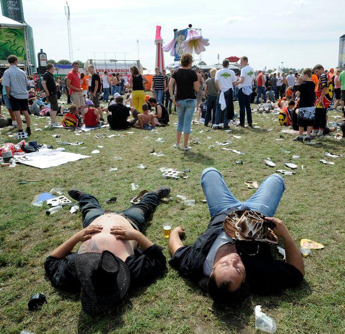 Dit beeld zullen we met name op de zondag zien. De meest zonnige dag van het festival.