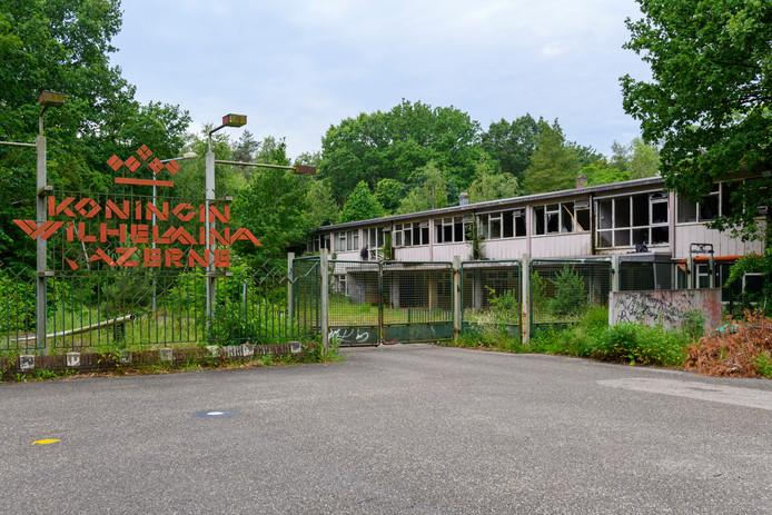 De voormalige Wilhelminakazerne in Ossendrecht.