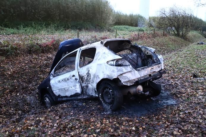 De schade aan de auto