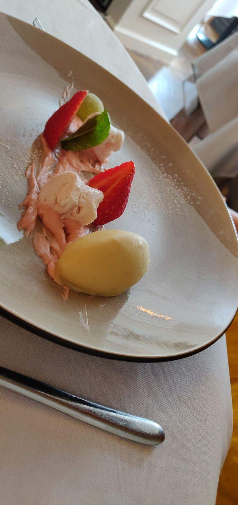 Zondagsmenu De Marmiet: het dessert