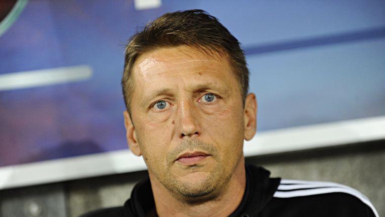 Rapid Wien-coach Zoran Barisic. Beeld anp