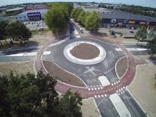 Dit kun je doen op een nieuwe rotonde die vanwege de hitte nog niet open kan