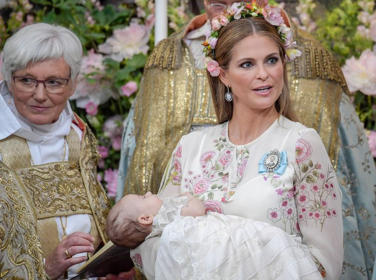 Kinderen Van Zweedse Prinses Madeleine Waren Accidentjes