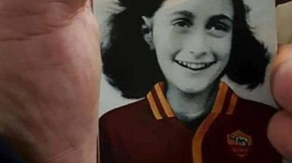 Lazio-aanhang misbruikt beeltenis Anne Frank