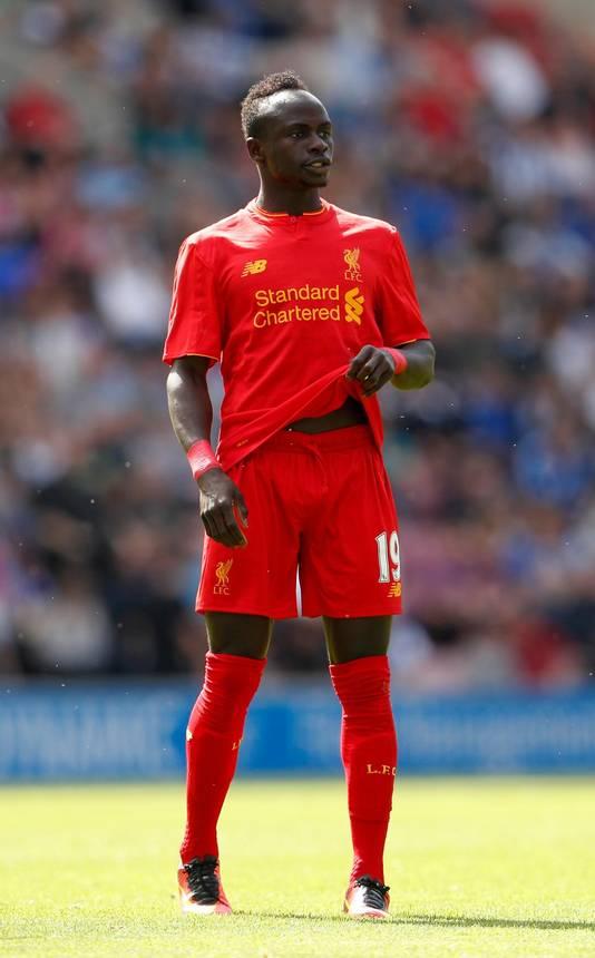 Sadio Mané, verliezend finalist met Liverpool in de Champions League, wil nu met zijn land schitteren op het WK.