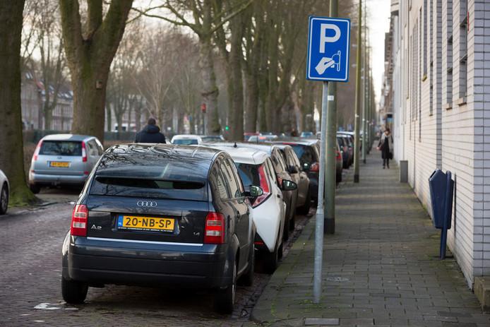 Parkeren langs  de Zuid-Willemsvaart, de opbrengsten worden minder en minder.