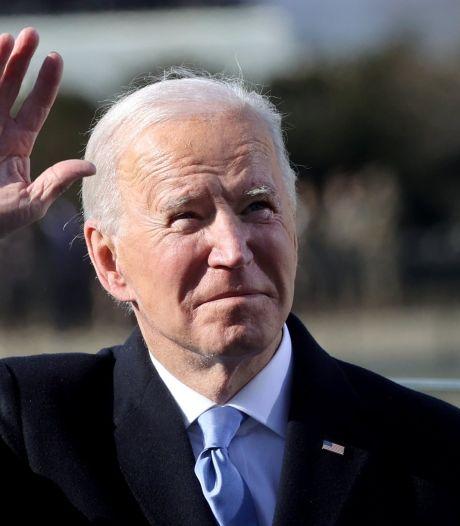 """Les premiers mots de Joe Biden comme président: """"C'est le jour de l'Amérique"""""""