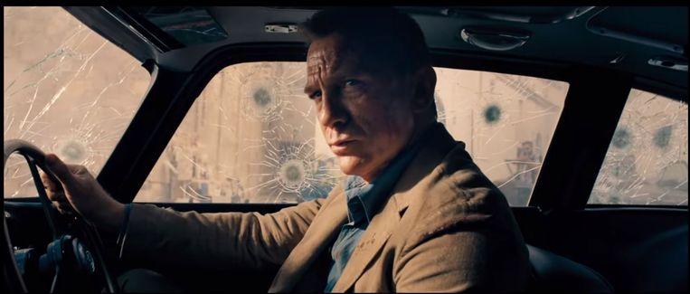 Daniel Craig in de nieuwe James Bondfilm No Time to Die. Beeld