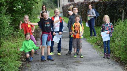 Wandelen en fietsen op het schoolfeest VBS Sint-Katrien