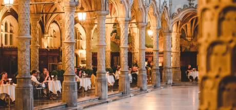 Dineren tussen de 96 zuilen van de Handelsbeurs: restaurant Fiera lanceert 'Handelsbeurs by Night'