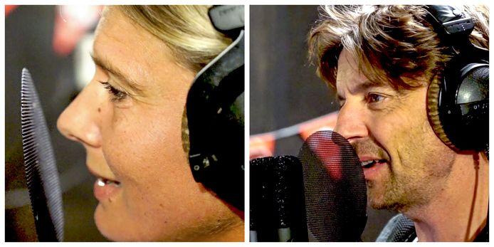 Nathalie Meskens en Koen Wauters zingen mee op de nieuwe versie