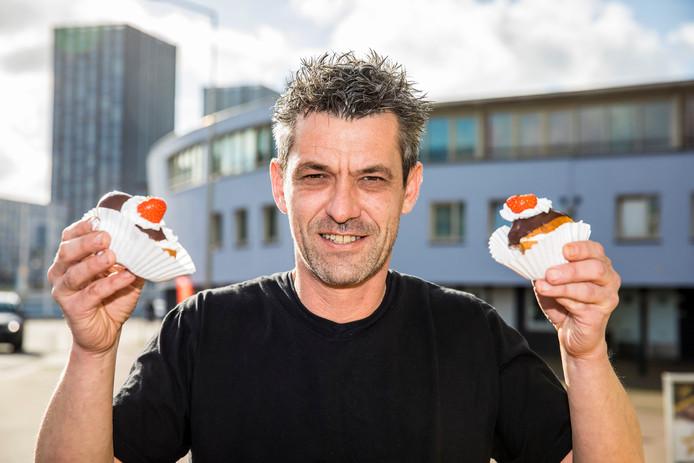 Jurgen Verwoerd, eigenaar van de veganistische banketbakkerij My Cakes.