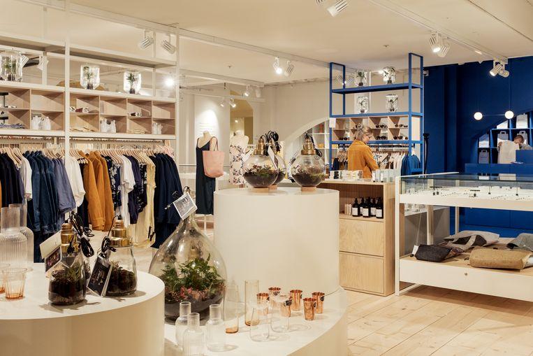 De nieuwe winkel van Hutspot in Magna Plaza Beeld Jakob Van Vliet