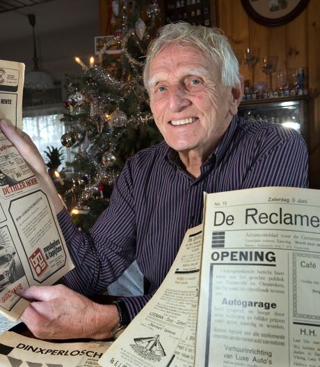 Voor verzamelaar Ben uit Dinxperlo kan een krant niet oud genoeg zijn