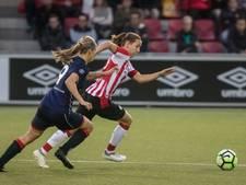 Voetbalsters PSV thuis niet voorbij Alkmaar