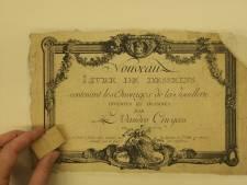 Museum DIVA geeft eerste beelden restauratie prentenalbum prijs