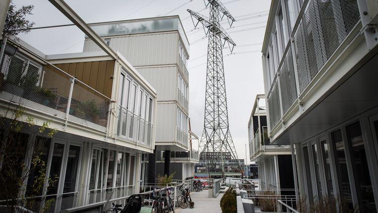 Woningen op het IJburgse Steigereiland Beeld Mats van Soolingen