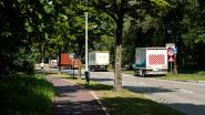 14 boetes bij verkeerscontrole aan parkeerterrein