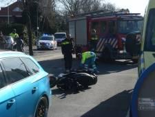 Scooterrijder gewond bij aanrijding Voorburg