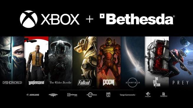 Met de overname krijgt Microsoft (Xbox) een aantal grote games in handen.