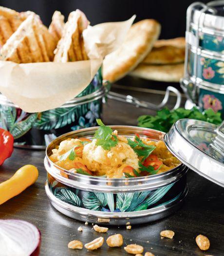 Wat Eten We Vandaag: Bloemkool tikka masala met naantosti's
