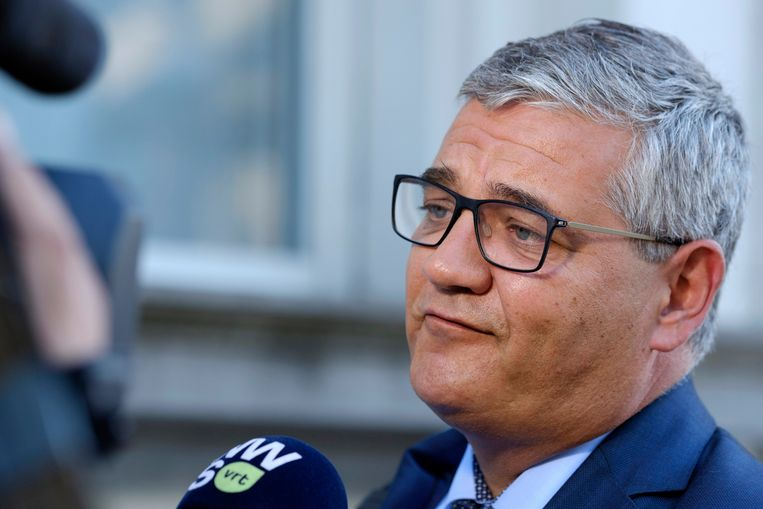 Minister van Defensie en Ambtenarenzaken Steven Vandeput (N-VA)