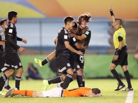 Oranje Onder-17 grijpt naast WK-finale na zinderende strafschoppenreeks