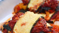 Start maandag gezond met deze snelle groentenlasagne