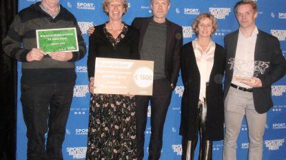 Oudenburg zet inwoners aan het sporten en wint award met mooie cheque