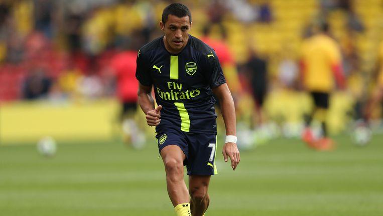 Alexis Sanchez speelt sinds 2014 voor Arsenal.
