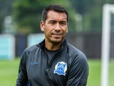 Van Bronckhorst begint met fors verlies in Chinese Super League