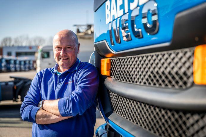 Wilco Van Grootel zorgt met zijn collega's van de Baetsen Milieubedrijven voor de inzameling van afval in verschillende gemeenten.