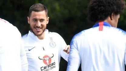 """Voorzitter Real Madrid bekent voor het eerst: """"Zijn hoopvol dat Hazard komt"""""""
