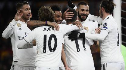 Real Madrid verzekert zich van groepswinst na zege op bezoek bij AS Roma, Courtois houdt z'n netten schoon