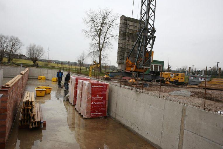 De nieuwbouw langs de Ziekenhuislaan moet eind dit jaar klaar zijn.