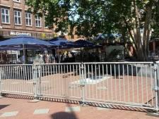 Hekwerk Markt Eindhoven niet zo aantrekkelijk