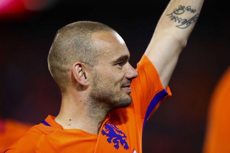 Wesley Sneijder Beeld ANP