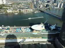 Cruisereus Independence of the Seas voor het eerst in Rotterdam