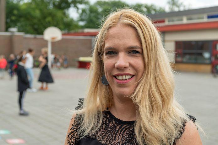 Daniëlle Hardy (35) werkt als leerkracht groep 8 aan basisschool Gummarus in Steenbergen.
