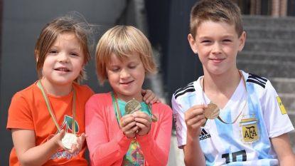 Kids Olympics bij Zottegem Atletiek