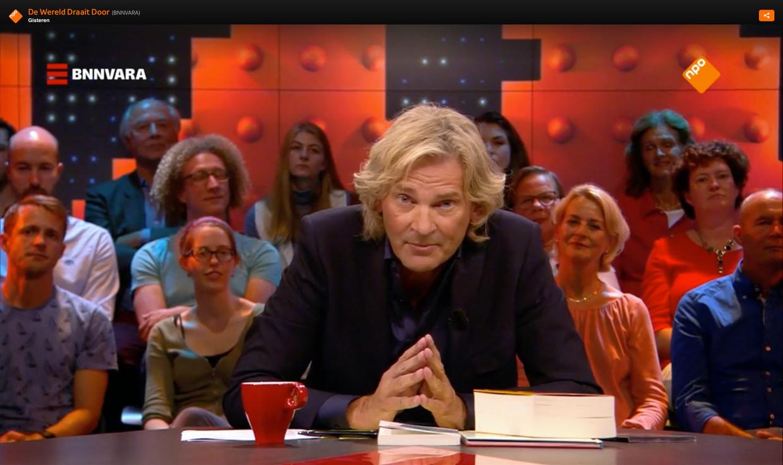 Matthijs van Nieuwkerk kan terugblikken op vijftien mooie jaren bij 'De Wereld Draait Door'.