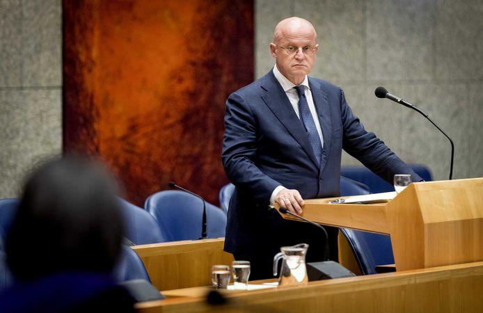 Ferd Grapperhaus, minister van Justitie en Veiligheid.